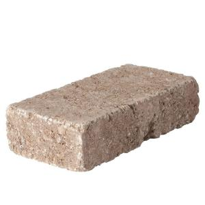 RumbleStone Mini 7 in. x 3.5 in. x 1.75 in. Cafe Concrete Paver