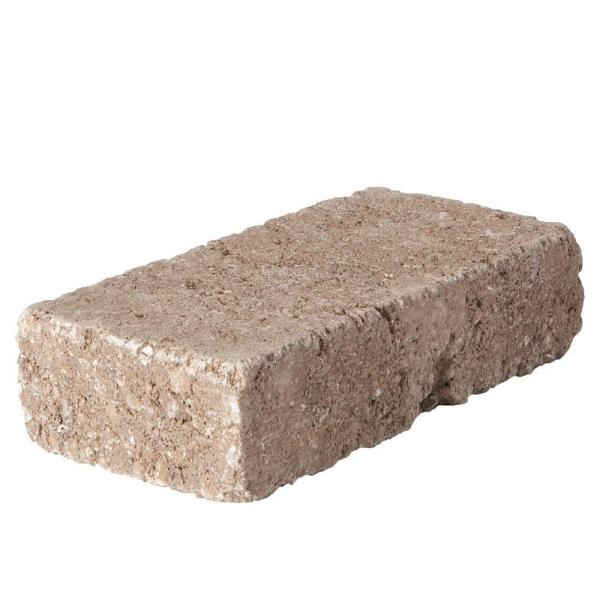 RumbleStone Mini 7 in. x 3.5 in. x 1.75 in. Cafe Concrete Paver (576 Pcs. / 98 Sq. ft. / Pallet)