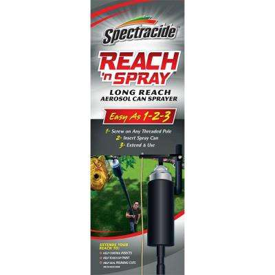 Reach 'n Spray Aerosol Can Sprayer