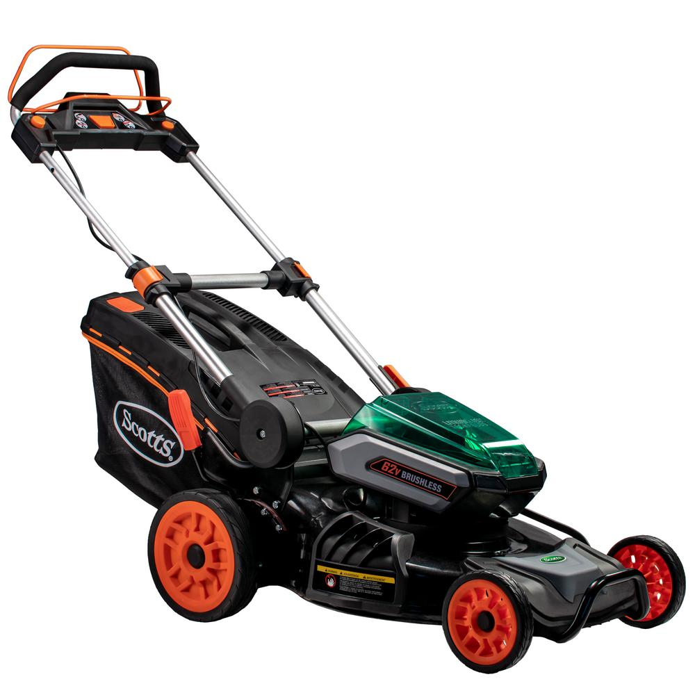 Scotts 21 In 62 Volt Lithium Ion Cordless Self Propelled