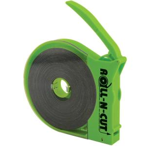 MASTER MAGNETICS 3/5 inch x 15 ft. Magnetic Roll-N-Cut Tape in Dispenser by MASTER MAGNETICS
