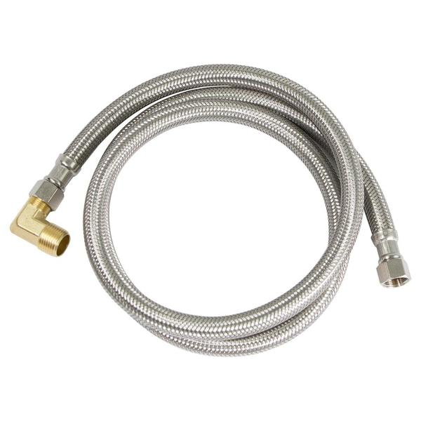 3/8 in. x 3/8 in. x 96 in. Braided Dishwasher Connector