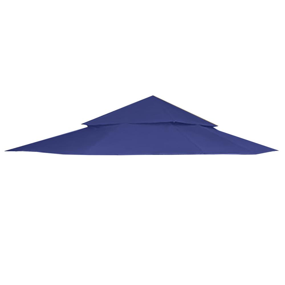 2c1da209650a Garden Winds RipLock 350 Blue Replacement Canopy Top Cover for 12 ft. x 12  ft
