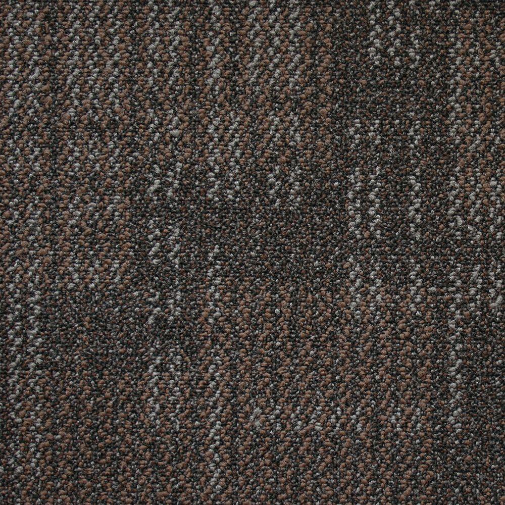 Carnegie Stormy Night Loop 19.7 in. x 19.7 in. Carpet Tile (20 Tiles/Case)