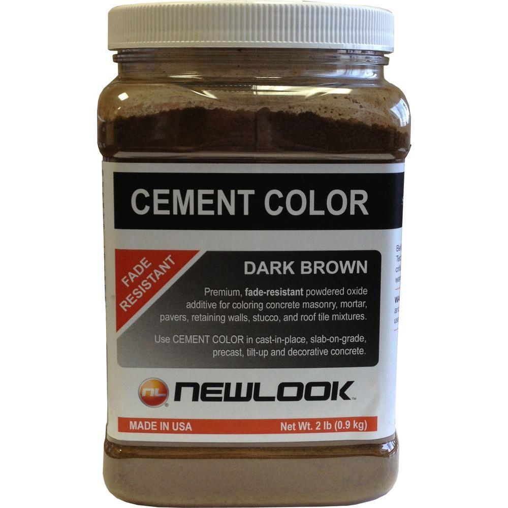 2 lb. Dark Brown Fade Resistant Cement Color
