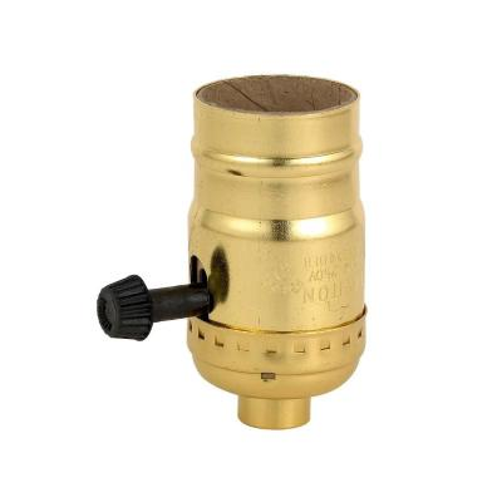 3-Way Socket Lamp Holder