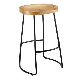 Pleasant Taylor 30 In Black Tractor Seat Bar Stool Lamtechconsult Wood Chair Design Ideas Lamtechconsultcom