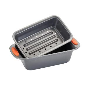 Click here to buy Rachael Ray Aluminum Loaf Pan by Rachael Ray.