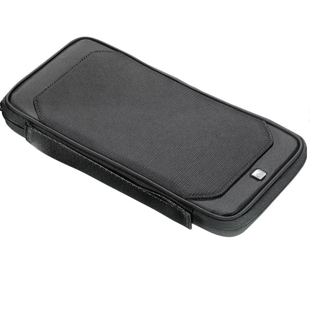 ba97c05ffad3 MANCINI 10.5 in. Black Classic Toiletry Kit with Organizer-ML- 98200 ...