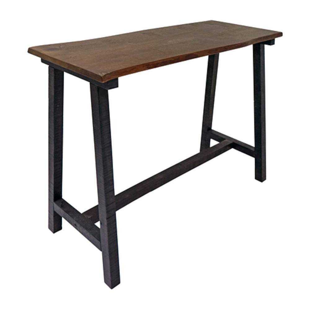 Zealand Trestle Console Table - Dark