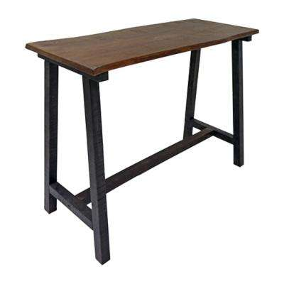 Zealand Trestle Console Table - Dark