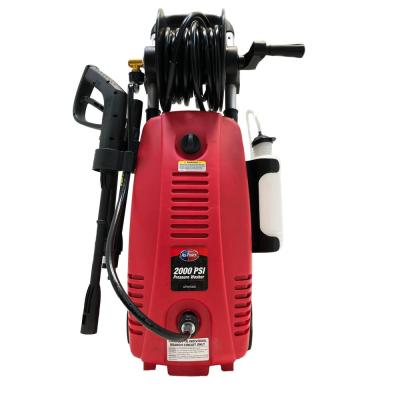 All Power 2000 PSI 1.6 GPM Red Electric Pressure Washer with Hose Reel for Buildings, Walkway, Vehicles and Outdoor Cleaning