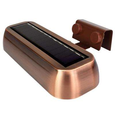 Copper Outdoor Integrated LED Spot Wall Pack Light