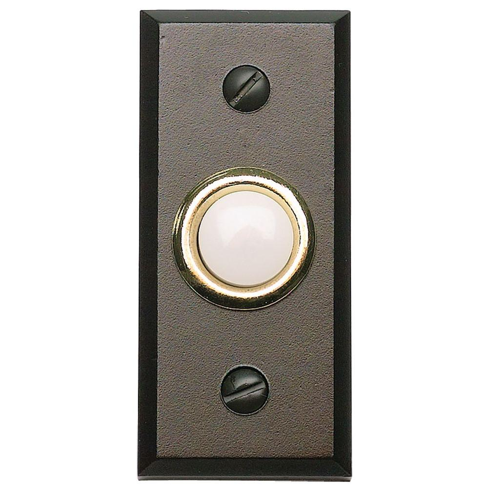 Atlas Homewares Mission 2-3/4 in. Aged Bronze Door Bell  sc 1 st  The Home Depot & Atlas Homewares Mission 2-3/4 in. Aged Bronze Door Bell-DB644-O ... pezcame.com