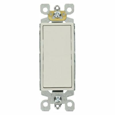 Decora 15 Amp 3-Way Specialty Light Switch, White (10-Pack)