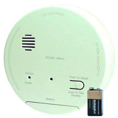 Hardwired Interconnected Photoelectric Smoke Alarm with Dualink, Battery Backup and Relay Contacts