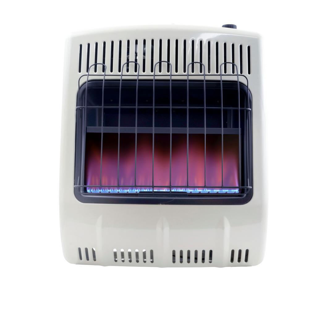20,000 BTU Vent Free Blue Flame Natural Gas Heater