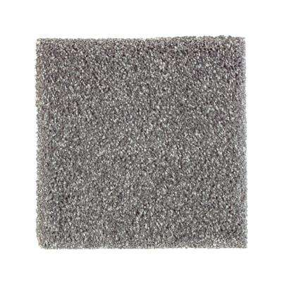 Carpet Sample - Whirlwind II - Color Tide Pool Texture 8 in. x 8 in.