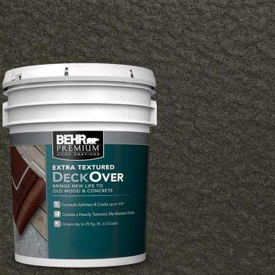 5 gal. #SC-108 Forest Extra Textured Solid Color Exterior Wood and Concrete Coating
