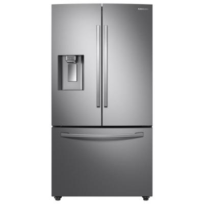 Samsung 28 cu. ft. 3-Door French Door Refrigerator in Stainless Steel with CoolSelect Pantry