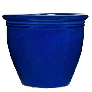 18 in. Imperial Blue Stone Wellington Planter
