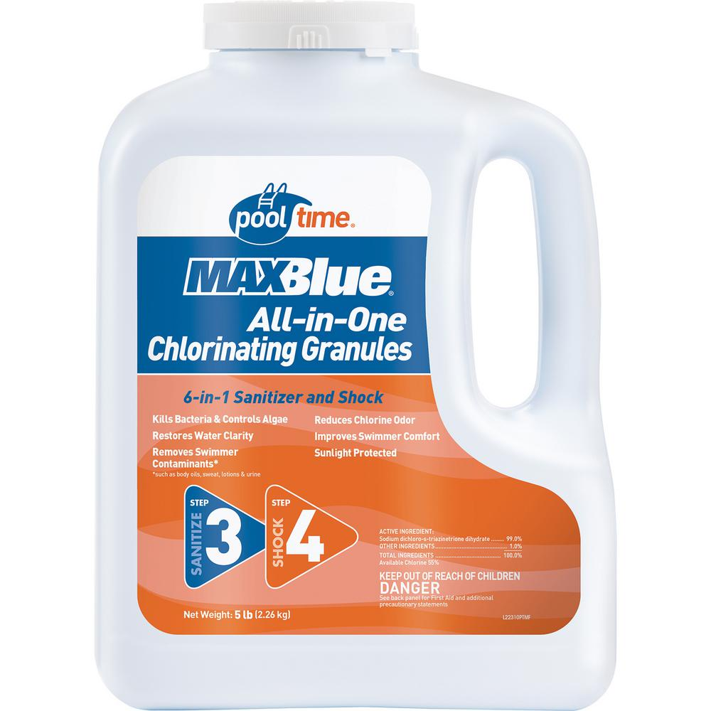 MAXBlue 5 lb. All-in-1 Chlorinating Granules