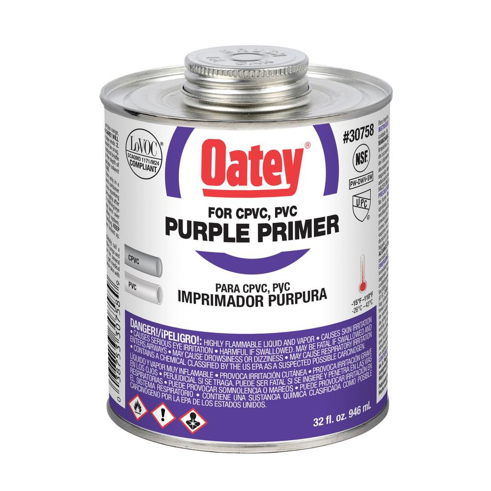 null 32 oz. PVC Purple Primer