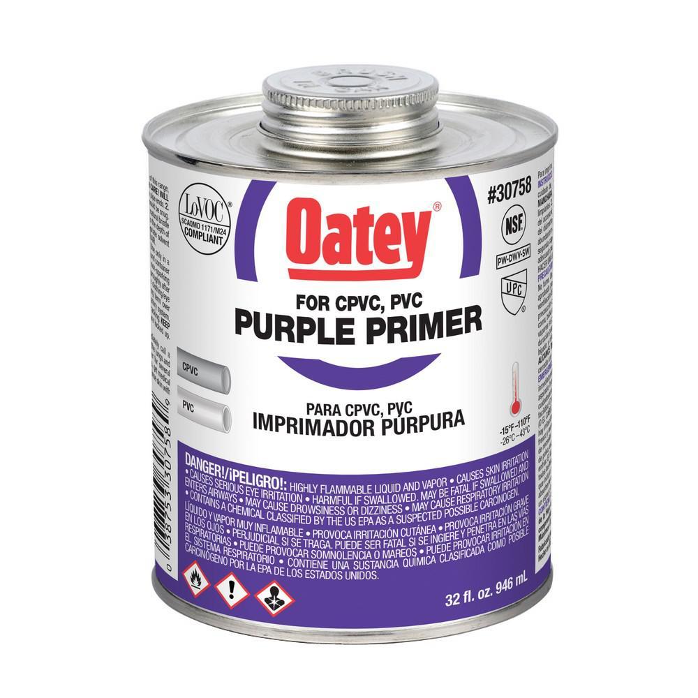 32 oz. PVC Purple Primer