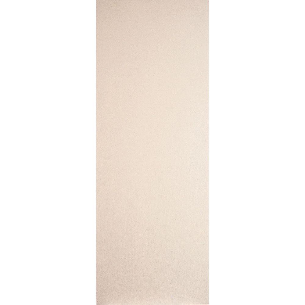 Masonite 30 in. x 80 in. Primed White Smooth Flush Hardboard Hollow Core Composite Interior Door Slab