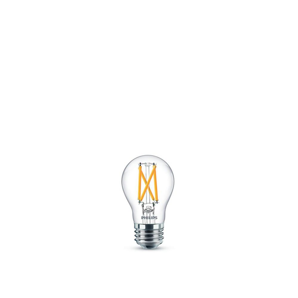 Philips 60-Watt Equivalent Daylight A15 Dimmable LED Light Bulb (2-Pack)