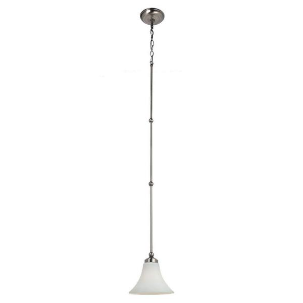 Sea Gull Lighting Montreal 1-Light Antique Brushed Nickel Mini Pendant
