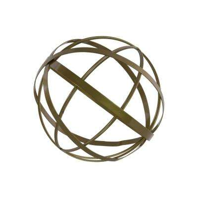 12.00 in. H Sculpture Decorative Sculpture in Gold Coated
