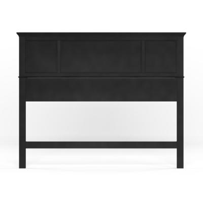 Bedford Black Queen Headboard