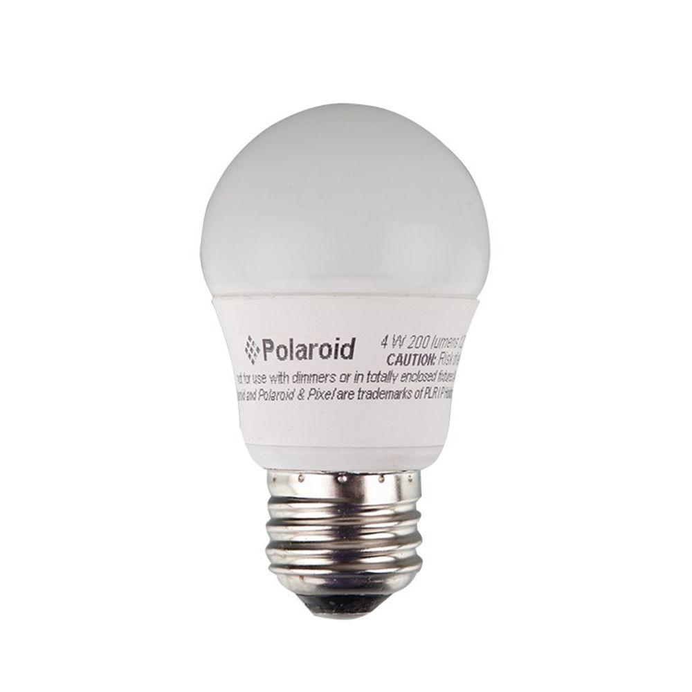 Polaroid Lighting 25W Equivalent Bright White (3000K) A15 Non-Dimmable Omni Directional LED Light Bulb
