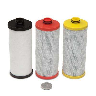3-Stage Under Counter Filter Replacement Cartridges