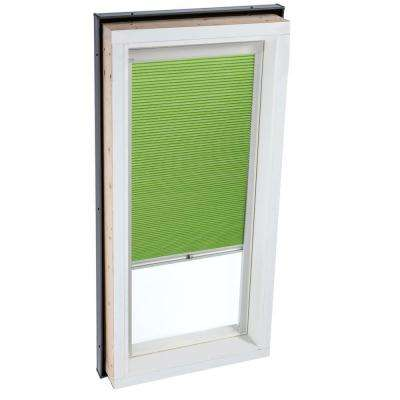 Manual Room Darkening Green Skylight Blinds for FCM 4646 and QPF 4646 Models