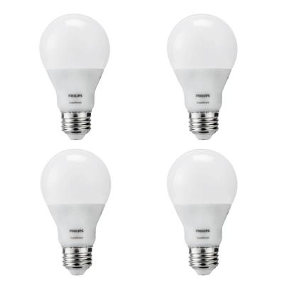 60-Watt Equivalent A19 SceneSwitch Energy Saving LED Light Bulb Daylight (5000K) (4-Pack)