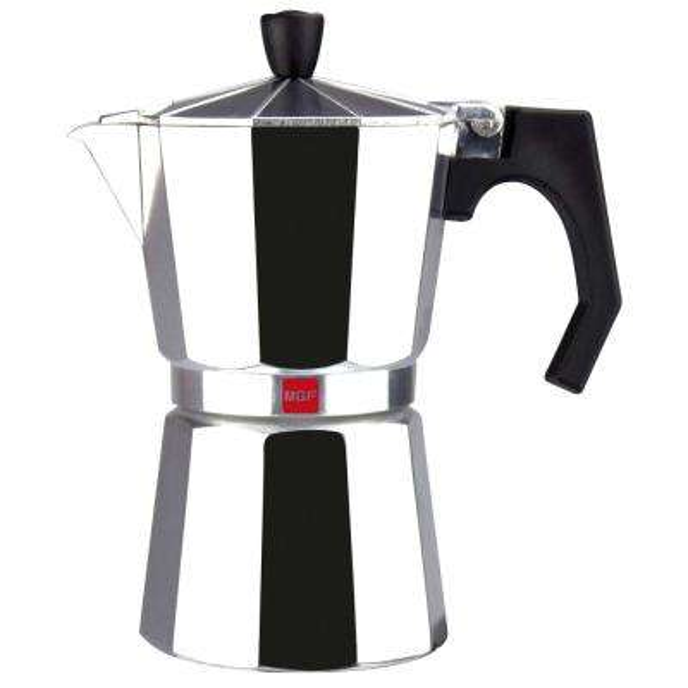 Kenia 6 Cups Aluminum Expresso Coffee Maker