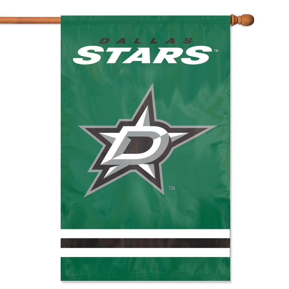 Dallas Stars Applique Banner Flag