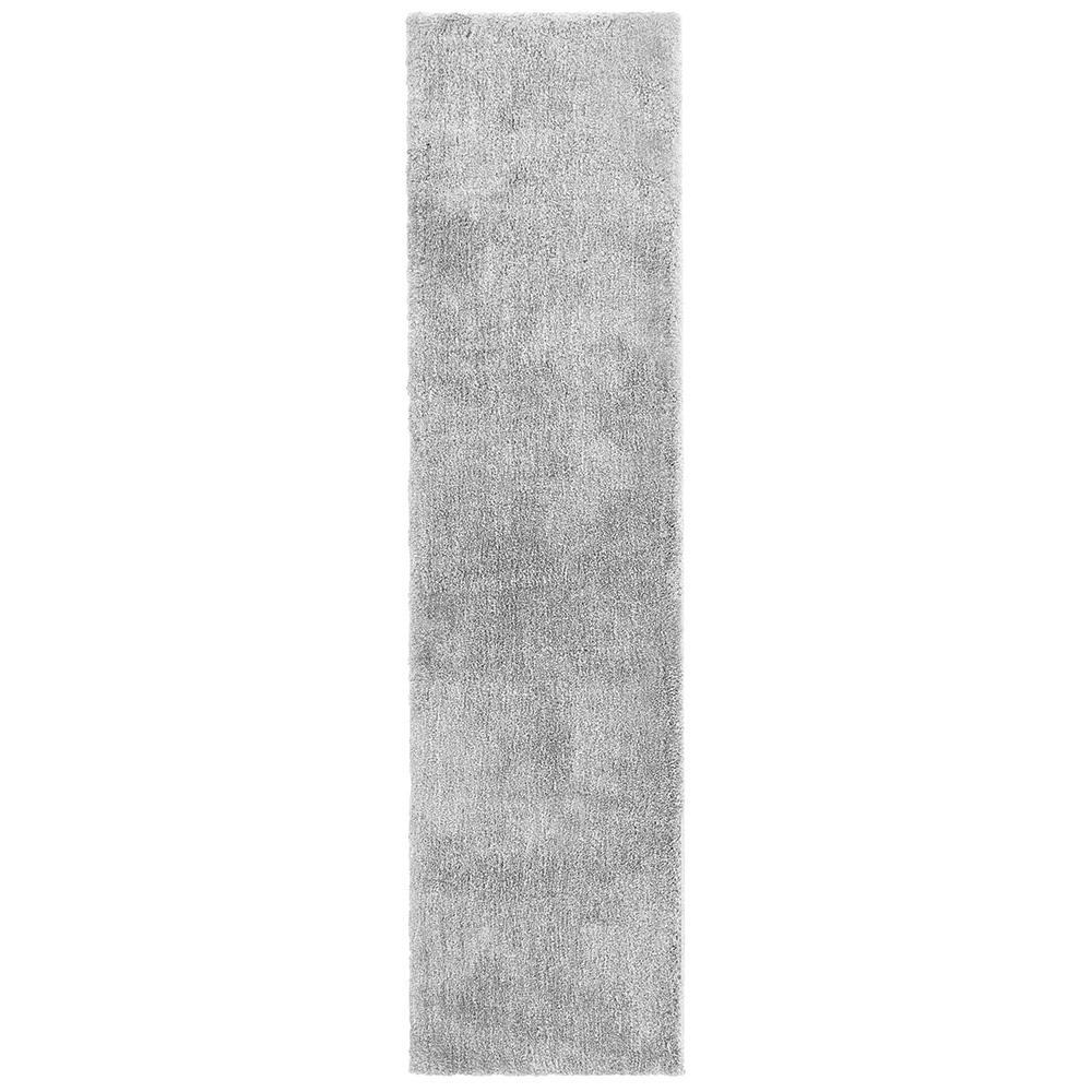 Ethereal Shag Gray 2 Ft X 8 Indoor Runner Rug