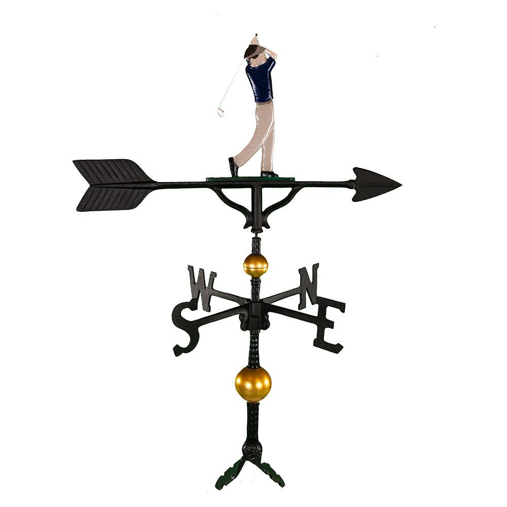 32 in. Deluxe Black Weathervane