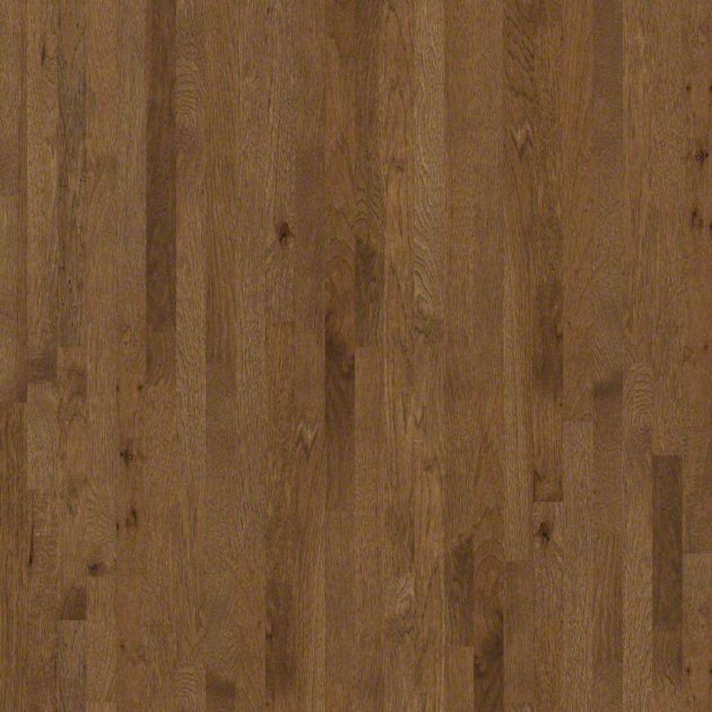 Shaw Hathaway Hickory Wheat 3/4 in. Thick x 2-1/4 in. Wide x Random Length Solid Hardwood Flooring (25 sq. ft. / case)