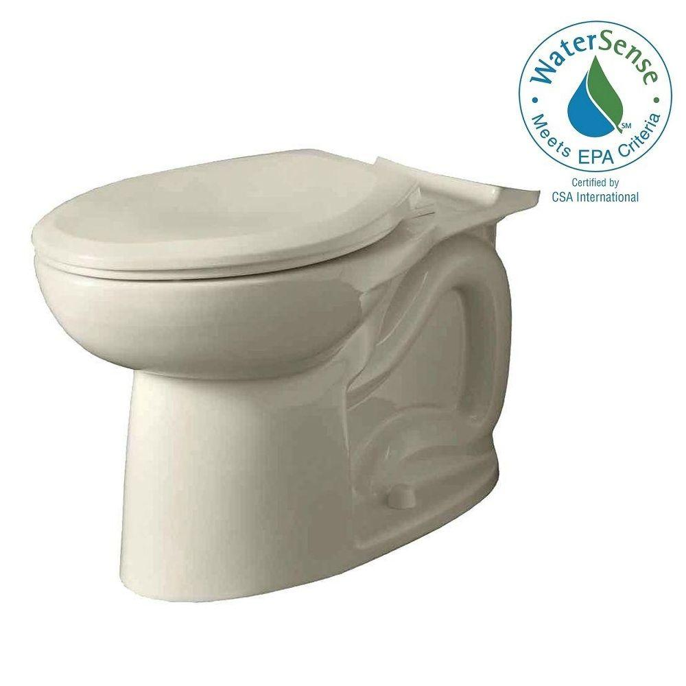 American Standard Cadet 3 FloWise Elongated Toilet Bowl Only in Linen