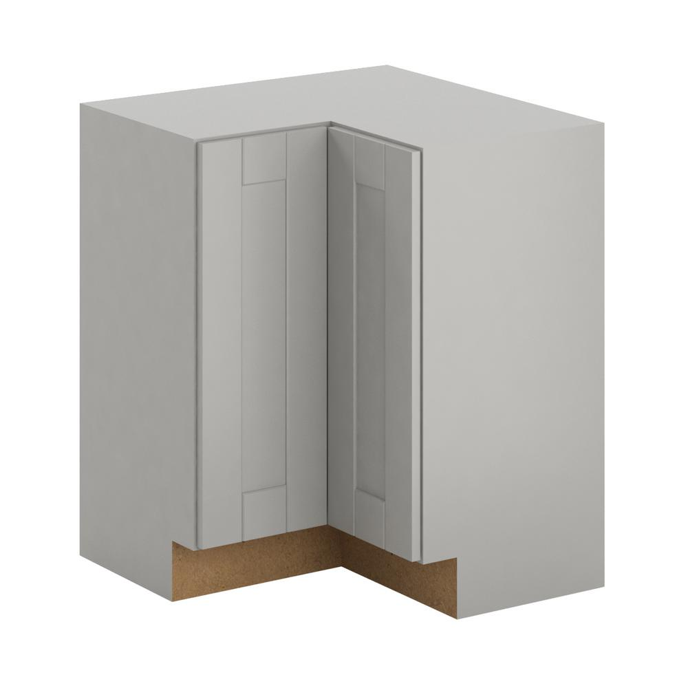 Hampton Bay Princeton Shaker Embled 28 5x34 5x28 5 In Lazy Susan Corner
