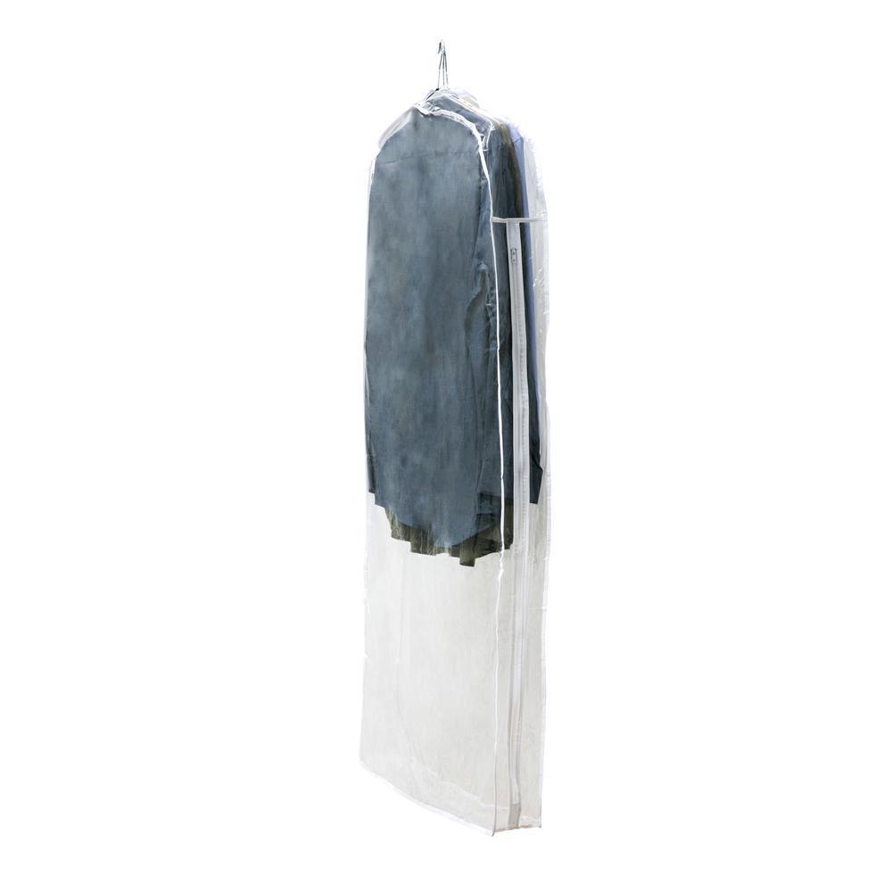 22 in. x 5 in. x 54 in. Garment Bag Crystal Clear Dress Bag