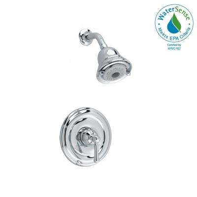 Portsmouth 1-Handle Shower Only Faucet Trim Kit with Round Escutcheon in Polished Chrome (Valve Sold Separately)