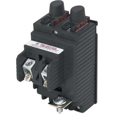 New UBIP Twin 15 Amp/15 Amp 1-Pole Pushmatic Replacement Circuit Breaker