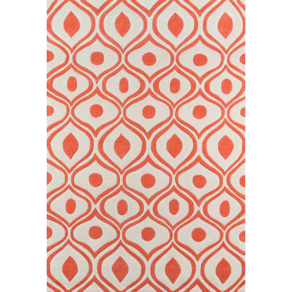 Nuloom Diamonds Cotton Trellis Orange 8 Ft X 10 Ft Area
