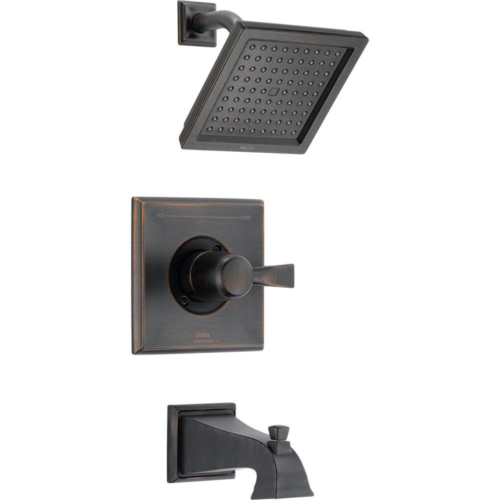 Delta Dryden 1-Handle Tub and Shower Faucet Trim Kit Only in ...