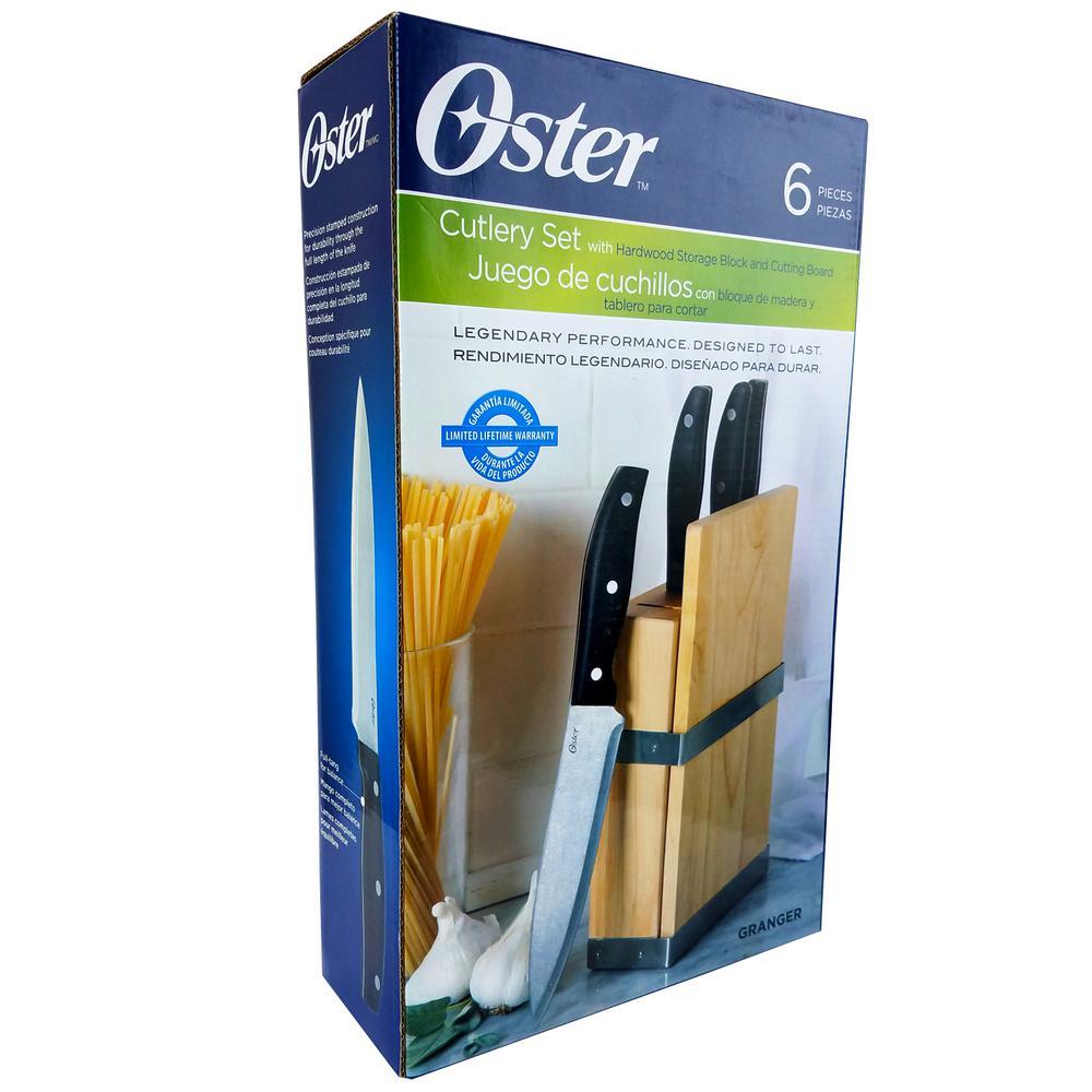 Oster Granger 6-Piece Knife Set